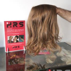 Protesi capelli ultrasottile